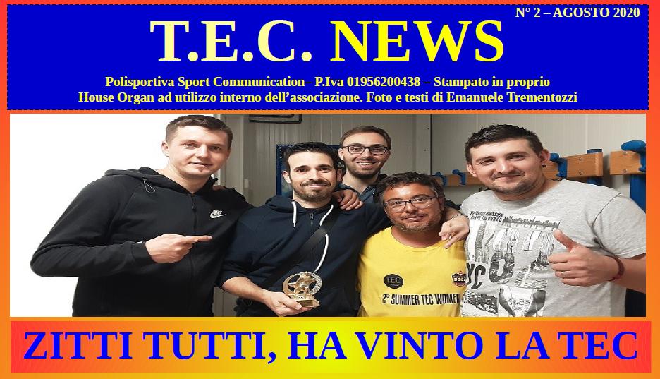 Tec News – Agosto 2020